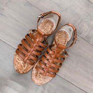 Sam Edelman Donna Gladiator Sandals, size 5